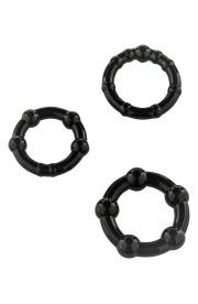 Krúžky na penis THREE RINGS