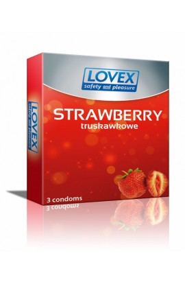KONDÓMY Lovex Strawberry