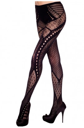 Multi Pattern Tight Pantyhose