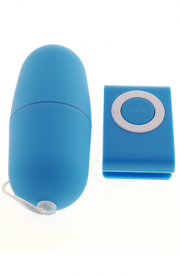 Vibračné vajíčko MP3 - modré