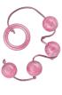 Análne guličky PLEASURE PEARLS - ružové