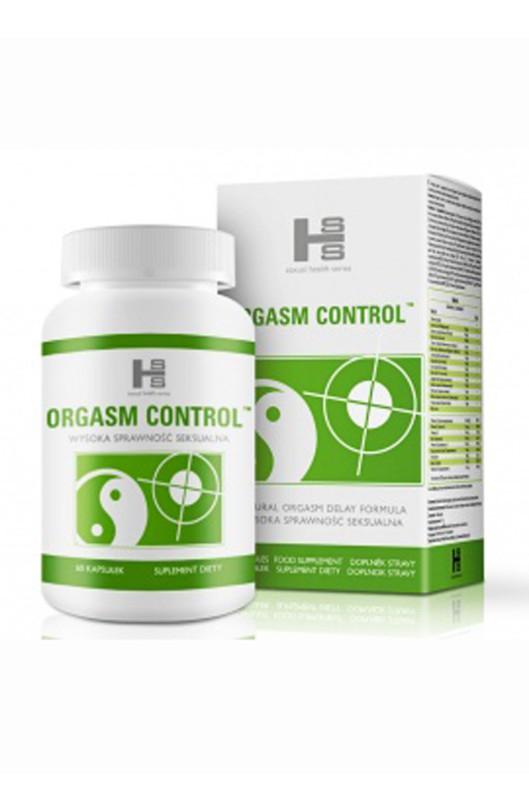 Oddialenie ejakulácie ORGASM CONTROL TABLETY
