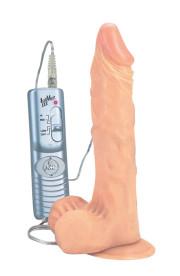 Realistický vibrátor AUTHENTIC REACTION 22cm