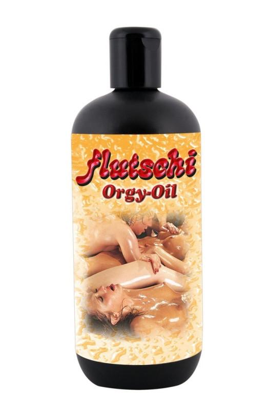 Masážny olej FLUTSCHI ORGY OIL 500ml