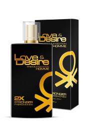 Feromóny Love & Desire GOLD pre pánov 100 ml