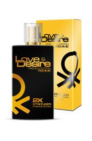 Feromóny Love & Desire GOLD pre ženy 100 ml