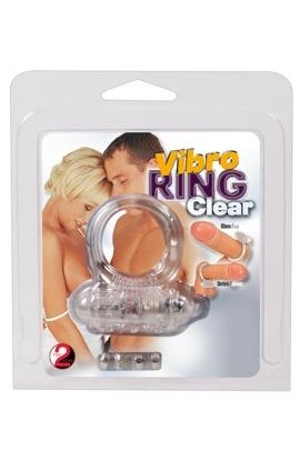 Krúžok na penis YOU2TOYS VIBRO RING CLEAR