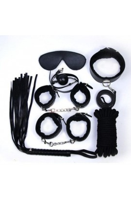 Sada TOYZ4LOVERS BDSM BONDAGE KIT čierna