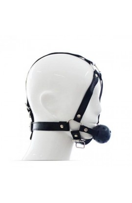 Náustok s popruhmi HEAD HARNESS + BALL GAG