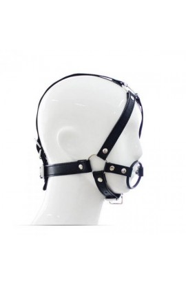Náustok s popruhmi HEAD HARNESS + RING GAG
