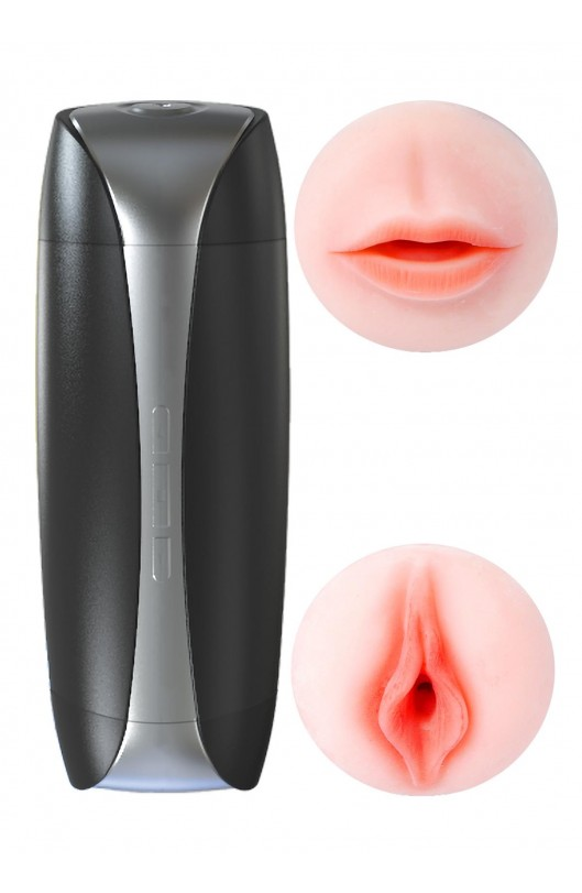 Vibračná vagína a ústa SUSAN Double Delight 2.0