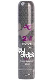 Lubrikačný a masážny gél JOYDROPS 2 in 1 Sensual Massage Lubricant Gel 125ml