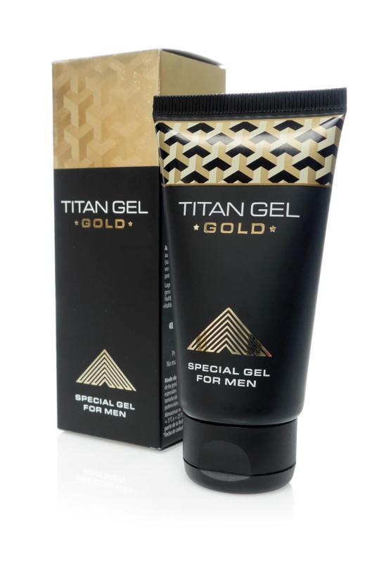 Gél na zväčšenie penisu TITAN GOLD 50ml