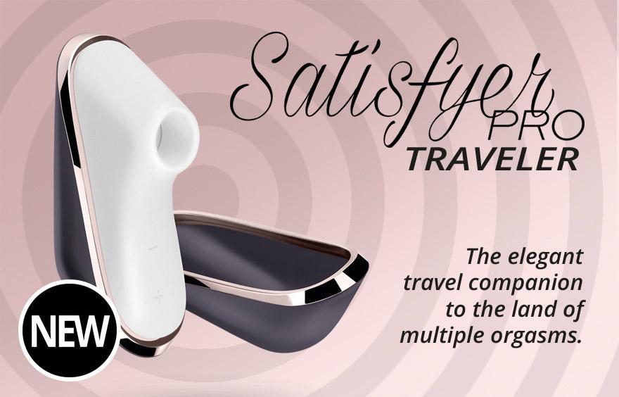 sex shop predstavuje značku satisfyer pro traveller